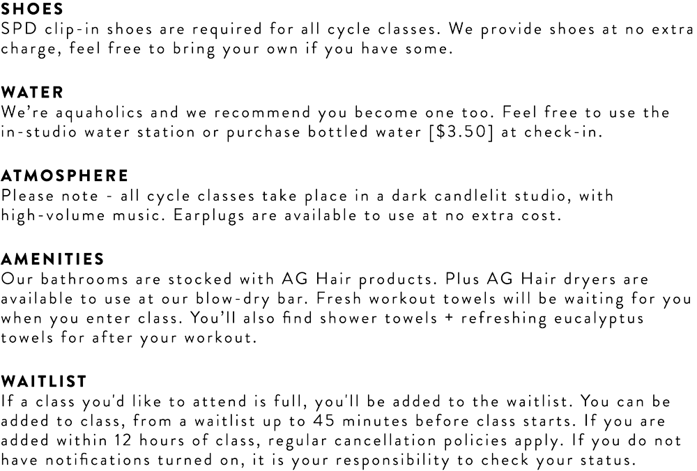 EastwoodX First Time Cycle Info
